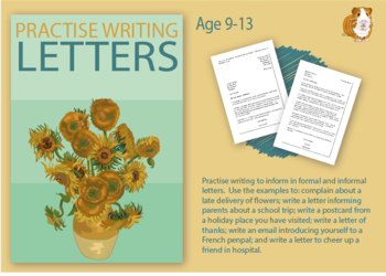 Practise Writing A Letter (Information Writing Work Pack) 9-14 years
