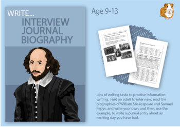Practise Writing An Interview And A Biography (Information Writing Pack) 9-14