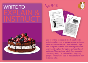Practise Writing To Explain And To Instruct (Information Writing Work Pack) 9-14