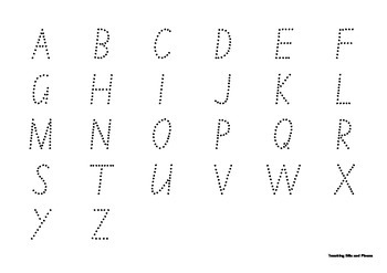 Practise my Capital Letters Multiple Pages NSW Foundation Style