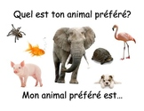 Practise posters for simple FRENCH questions