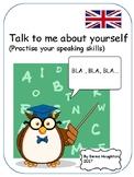 English activity. Practise  your speaking . Practica habla