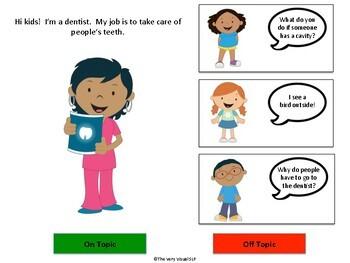 Pragmatic Language On Topic Off Topic Community Helper Vocabulary Social Autism