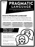 Pragmatic Language Parent Handout