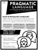 Pragmatic Language Parent Handout