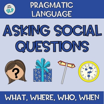 Distance Learning Pragmatic Language Asking Peers Social Questions Therapy ASD