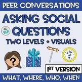Distance Learning Pragmatic Language Asking Peers Social Q