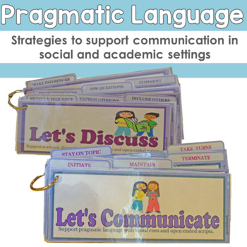 Pragmatic Language Visual Cues