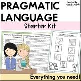 Pragmatics Activities Starter Kit | Social Communication