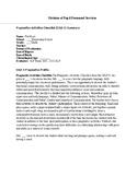 Pragmatics Activities Checklist write up