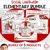Social Language Bundle:  3 Products for Conversational Skills!