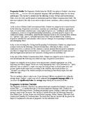 Speech Therapy- Pragmatics Profile/Activities Checklist (C