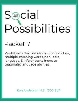 Pragmatics, Social Possibilities packet 7