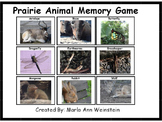 Prairie Animal Memory Game
