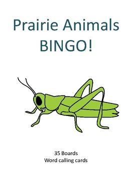 Prairie Animals BINGO!