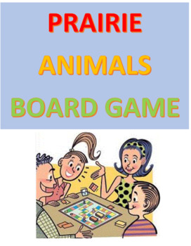 Prairie Animals Board Game