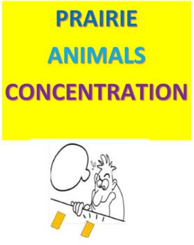 Prairie Animals Concentration