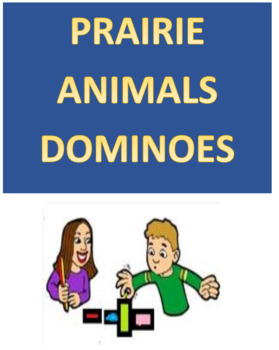 Prairie Animals Dominoes