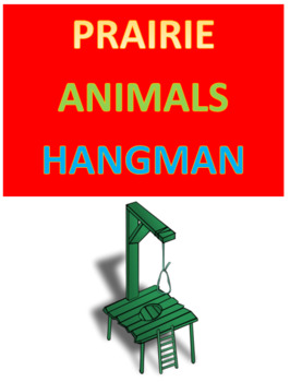 Prairie Animals Hangman