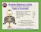 Prairie Chicken Little:  Literacy Activities