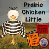 Prairie Chicken Little Activities