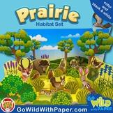 Prairie Diorama Project | Grassland Habitat Craft Activity | Biome