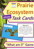 Prairie Ecosystem Task Cards with PHOTOS {PLUS a Food Web Activity}