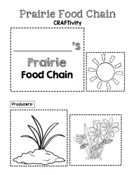 Prairie Food Chain CRAFTivity