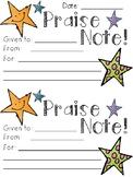 Praise Notes