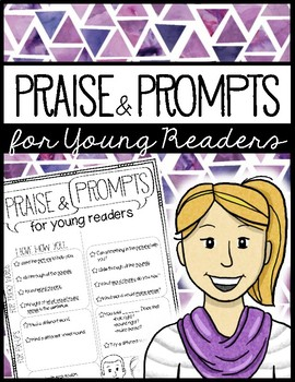 Praise and Prompts for Readers FREE poster