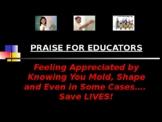 Praise for Teachers