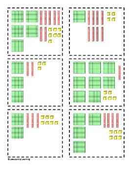 Prancer Place Value Cards - CCS 2.NBT.1