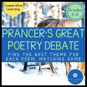 Prancer's Great Poetry Debate: A Poetry Theme Activity