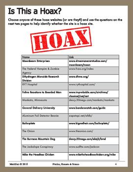 Pranks, Hoaxes & Scams