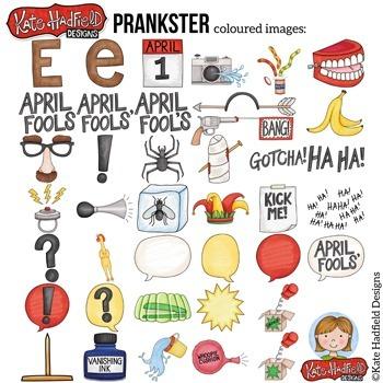 "April Fool's Clip Art: ""Prankster"""