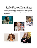 Pratice Scale Drawing With Celebrities! 7th Grade Math TEKS