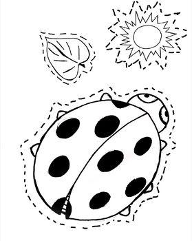 Pratique ciseaux : dessin à découper
