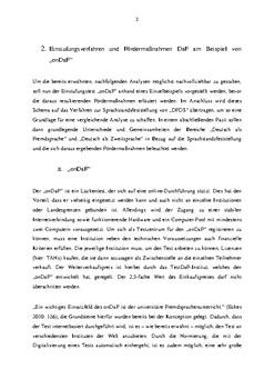 """Praxisbericht zu """"ondaf"""" und """"DFDS"""""""