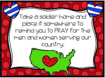 Pray for the Military Poster Freebie