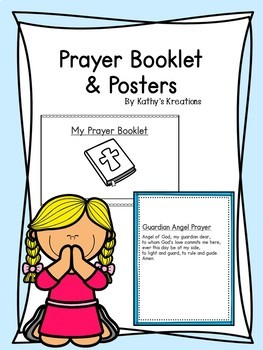 Prayer Booklet And Posters Editable