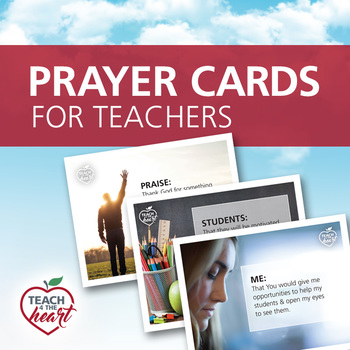 Prayer Cards for Teachers