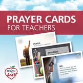 Prayer Cards for Teachers