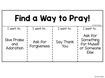 Prayer Flip Book