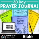 Prayer Journal, Bible Lesson, Google Classroom