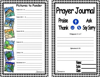 Prayer Journal - BUNDLE - Division I and II Christian Programming