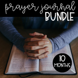 Prayer Journal Bundle