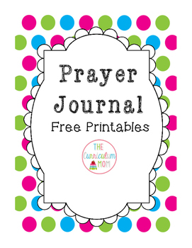 Prayer Journal Cover and Dividers