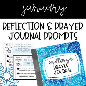Prayer Journal - January