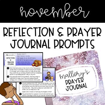 Prayer Journal - November