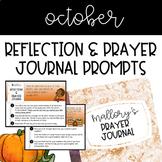Prayer Journal - October
